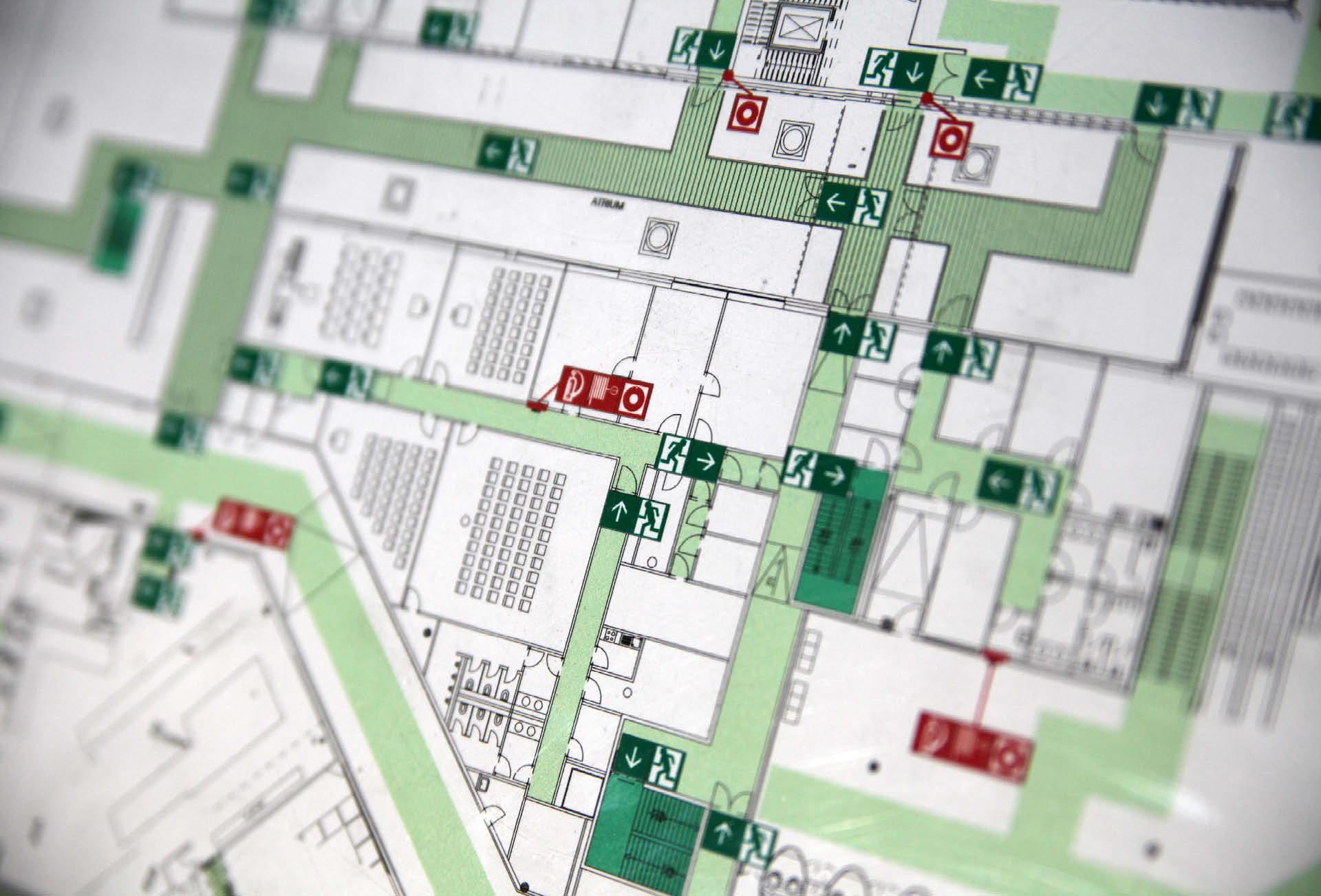 Bauwerkplan Feuerschild
