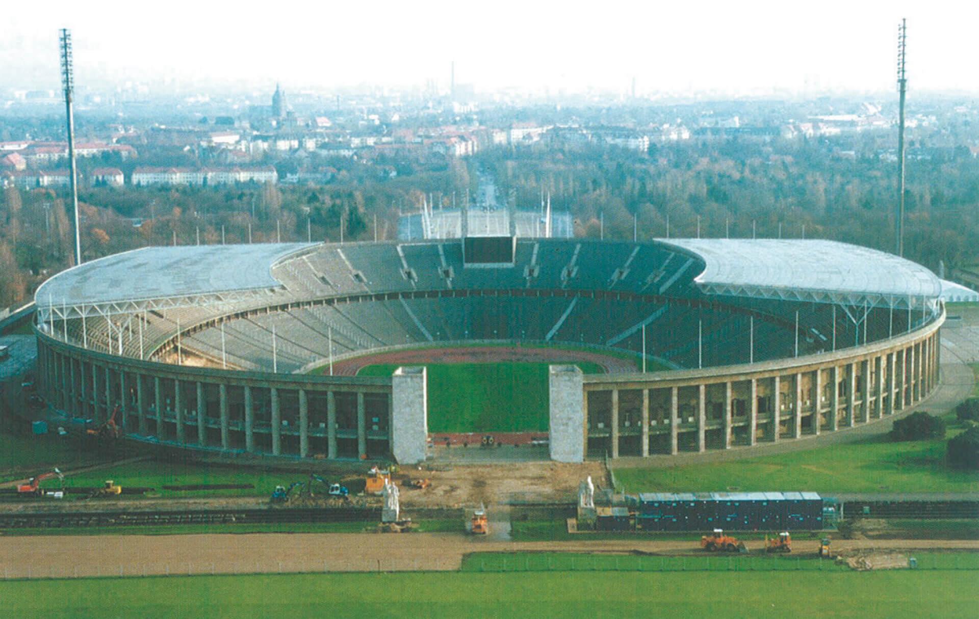 Modernisierung des Berliner Olympiastadions