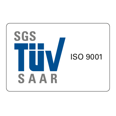 Zertifizierung nach Norm ISO 9001:2015