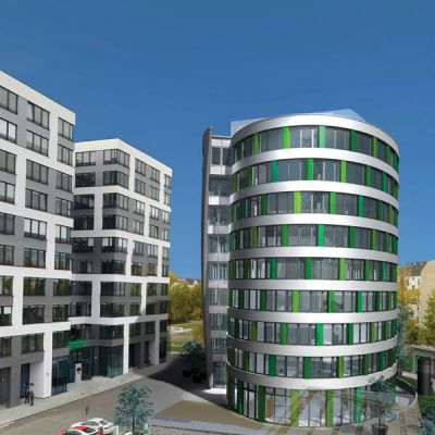 Neubau eines Büro- und Verwaltungsgebäudes