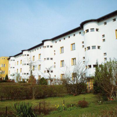 Sanierungsmaßnahme Hufeisensiedlung Stavenhagener Straße