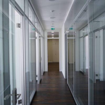 Flur in der Büroetage