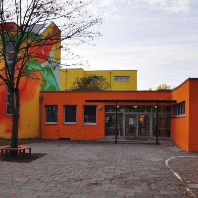 Haupteingang Grundschule am Buschgraben